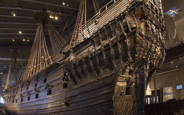 In Pictures: Stockholm's iconic Vasa warship up close