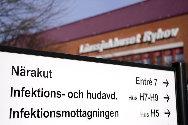 How many have been tested for the coronavirus in Sweden?