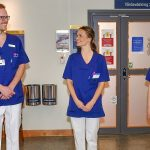 Swedish princess trains to help carers as record numbers apply to train as nurses