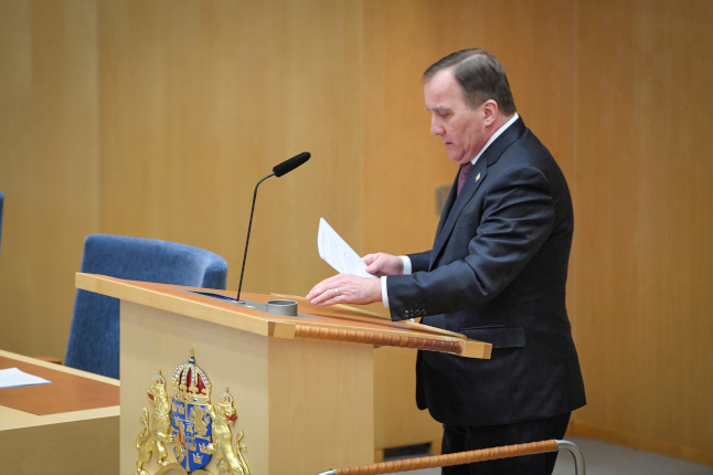 Between normalcy and state of emergency: The legal framework for Sweden's coronavirus strategy