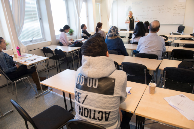 Sweden to introduce new civics classes for asylum seekers
