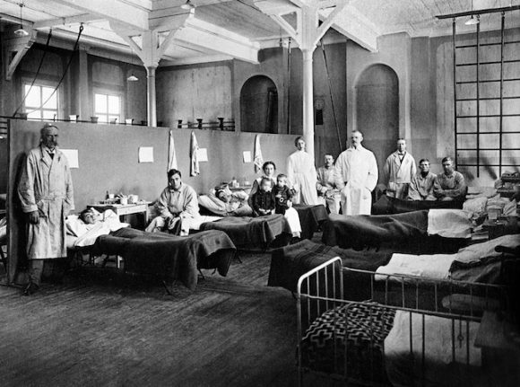 How did Sweden tackle the Spanish flu a century ago?