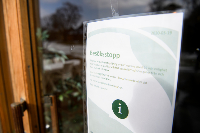 Swedish death toll passes 4,000 as coronavirus cases in care homes start to fall
