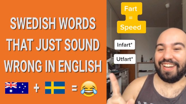 Lost in translation? Swedish words that don't sound right in English