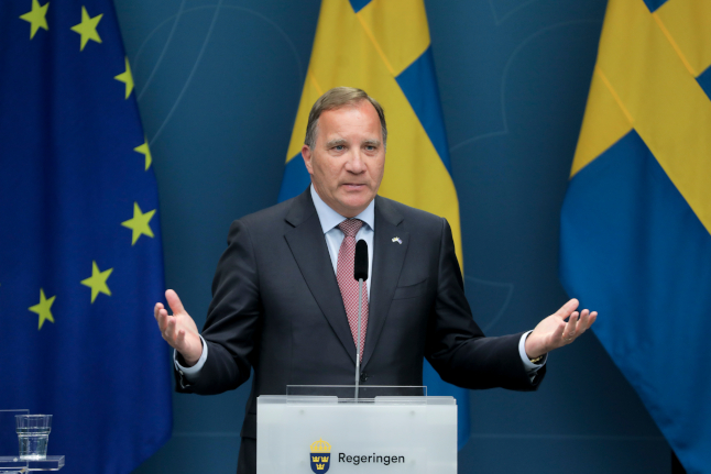 Who would Swedes vote for if an election were held today?