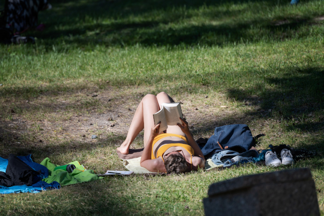 Northern Sweden just had its hottest day ever recorded in June