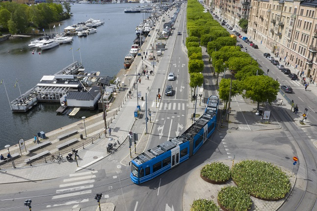 Here are the guidelines for using public transport in Sweden this summer