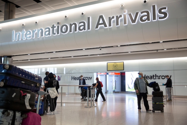 When will the UK lift quarantine rules for travellers from Sweden?