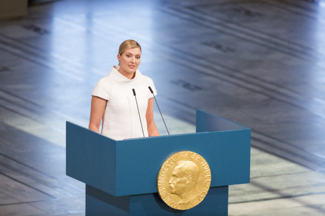 From bored intern to global fame: The Swedish peace campaigner changing the world