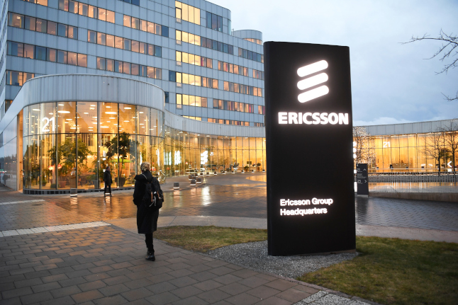 Ericsson makes face masks compulsory for all staff and visitors