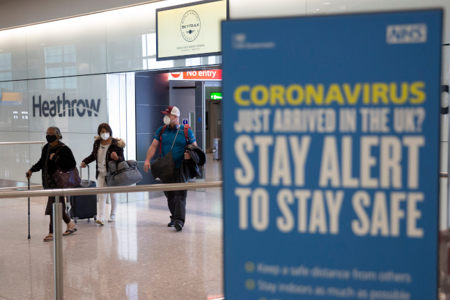 UK to lift quarantine for arrivals from Sweden