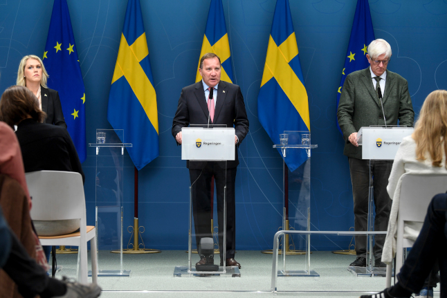 'Work from home, don't hug your friends': Swedish PM Stefan Löfven's warning as coronavirus cases rise