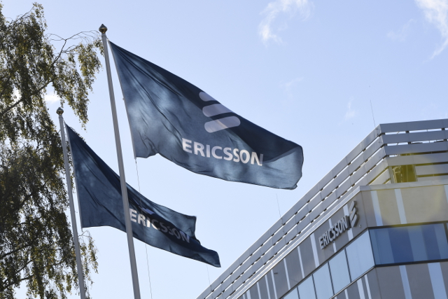 Sweden's Ericsson surprises with net profit in third quarter