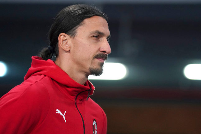 Zlatan Ibrahimovic in talks with Swedish football chiefs about international comeback