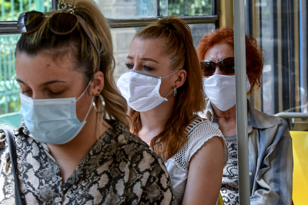 Sweden recommends masks during rush hour, as coronavirus deaths hit record number