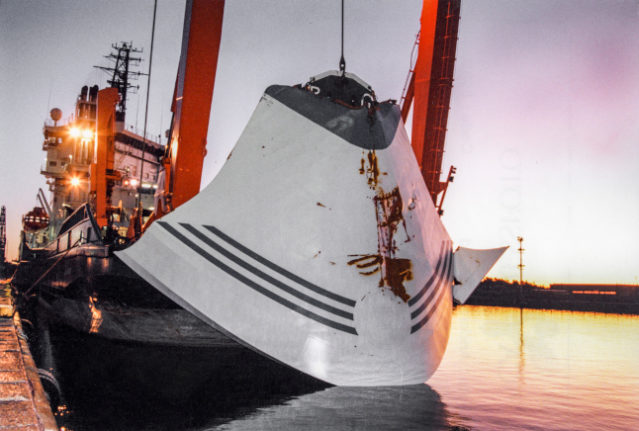 Sweden to lift ban on surveying Estonia ferry wreck after 25 years