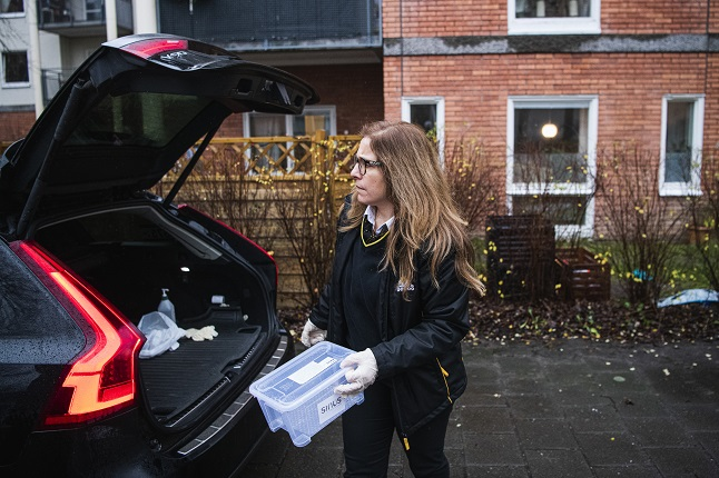 How Sweden's taxi drivers are stepping up to help with Covid-19 testing