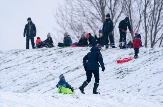 Here's where you might get a white Christmas in Sweden