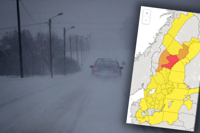 'Stay at home' – Sweden issues RED snow alert for first time in a decade