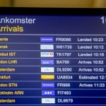 How many UK arrivals have been turned away by Swedish border police?