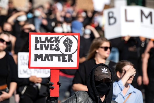 Black Lives Matter wins Swedish rights prize