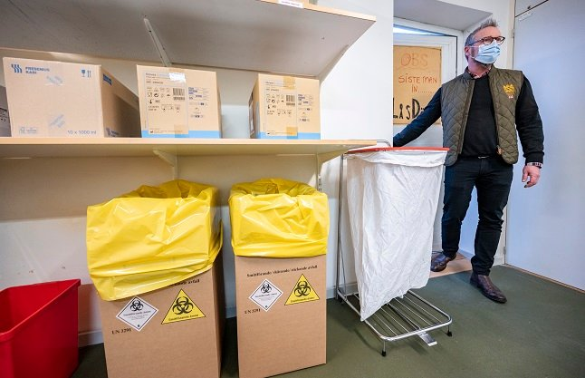 Almost 200,000 Covid-19 vaccinations have been given in Sweden