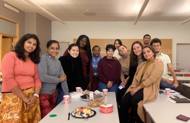 How a study circle helps new students integrate in Sweden