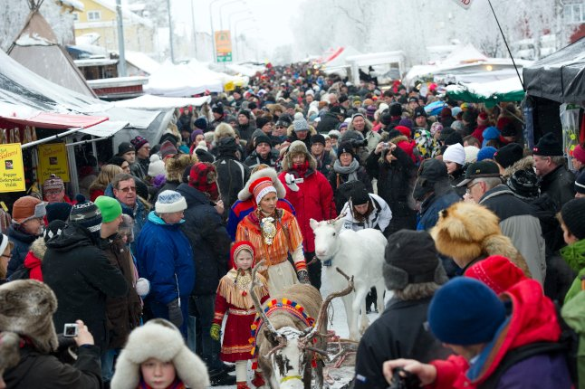 Sami market gets under way online – for the first time in four centuries