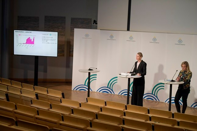 Sweden's Public Health Agency warns fewer people are following Covid-19 recommendations