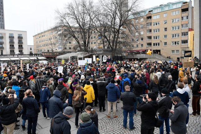 Why Sweden had an anti-lockdown protest without having a lockdown