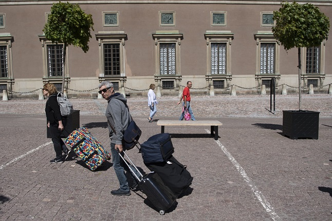 Sweden extends ban on travel from outside the EU