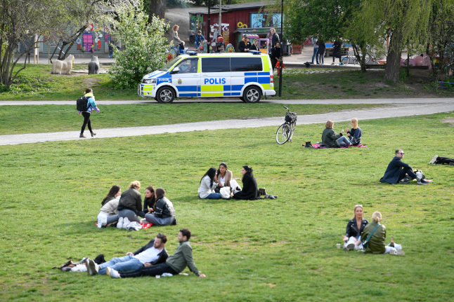 New coronavirus rules: Swedish towns given power to shut parks and outdoor spaces