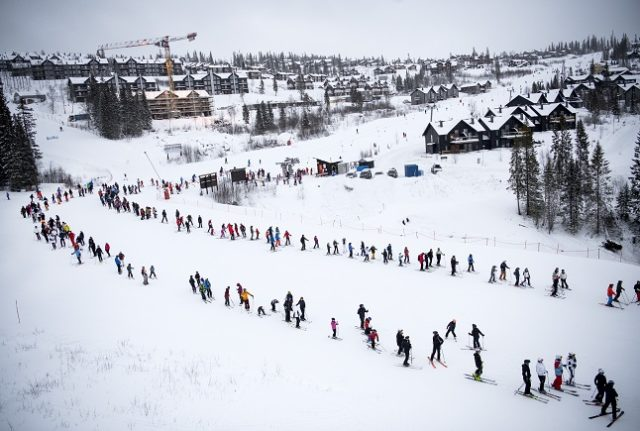 House party in Swedish ski resort reported for violating pandemic law