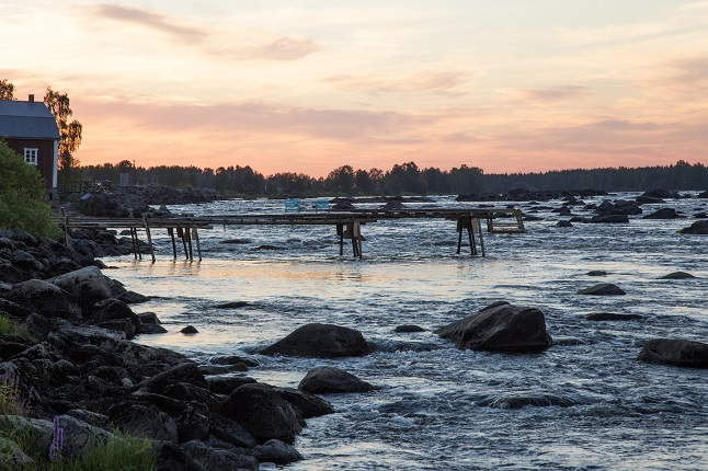 In Sweden, the season of the midnight sun is here again