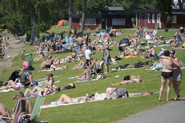 Swedish weather agency warns of extreme heat across most of the country