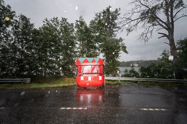 Weather agency issues warnings for heavy rain in central Sweden