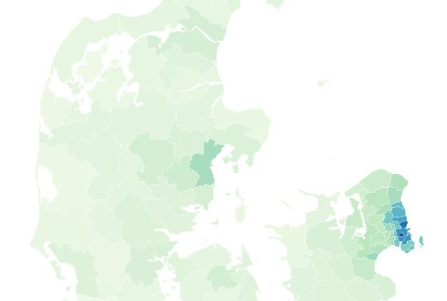 MAP: How much do you need to earn to buy a detached house in Denmark?