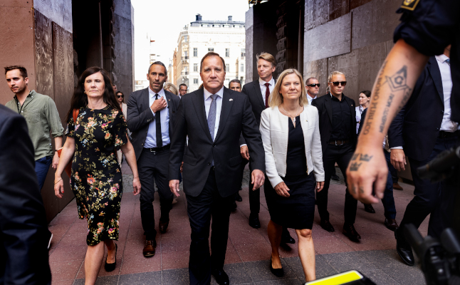 ANALYSIS: What's next for Sweden after Löfven's sudden exit?