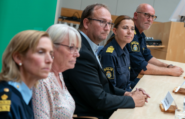 Teenage suspect held after stabbing at southern Swedish school