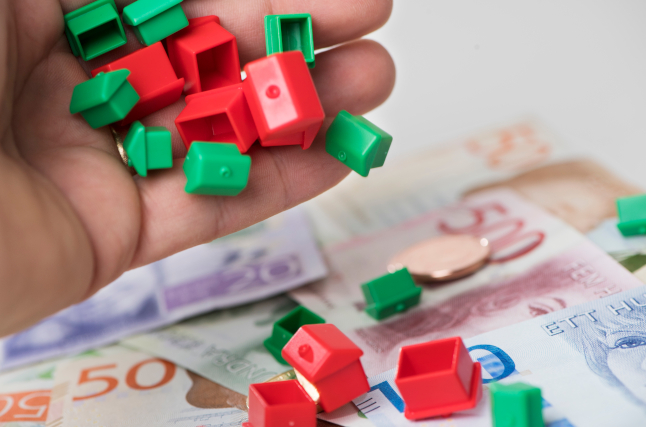 Is the rising trend in Swedish property prices beginning to reverse?