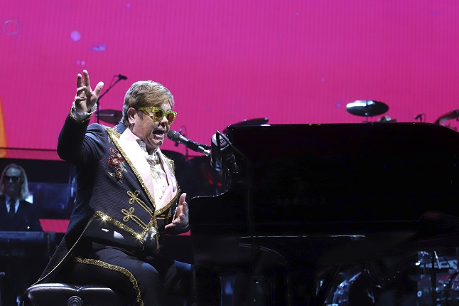 Elton John can play to a crowd of 45,000 in Stockholm next month after Covid events restrictions lifted