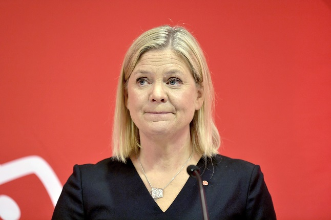 Magdalena Andersson nominated as next party leader for Sweden's Social Democrats