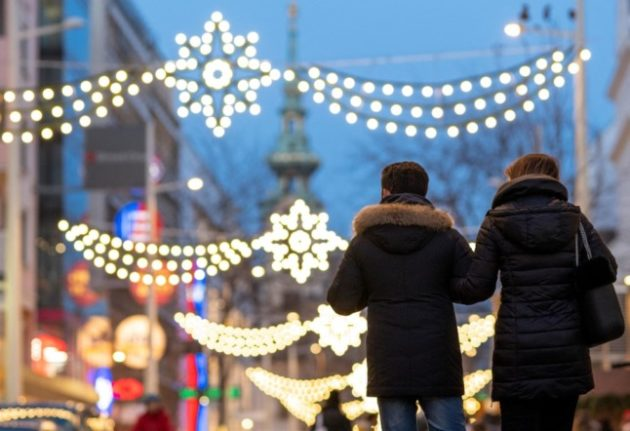 Ribbons, fences and 3G: How will Christmas markets look this year in Austria?